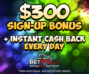 $300 signup offer at BetPTC.com