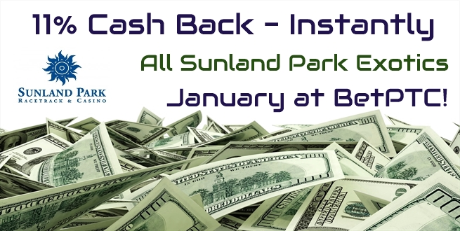 Sunland Park cash back